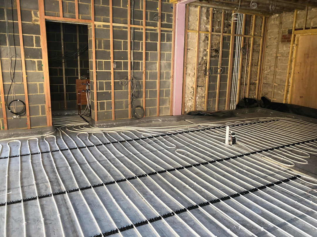 Underfloor Heating System Install - DSB Heating & Mechanical Services